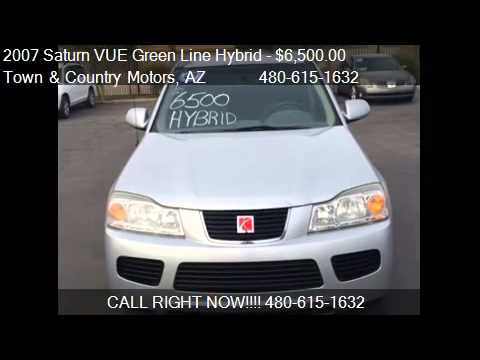 2007 Saturn Vue Green Line Hybrid Fwd 4 Cylinder For Sale