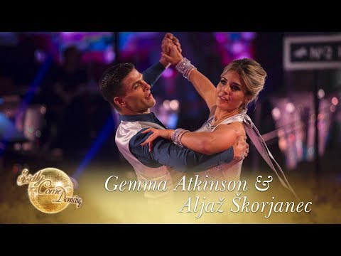 Gemma & Aljaz Viennese Waltz to 'You Don't Have To Say You Love Me'  - Strictly Come Dancing 2017
