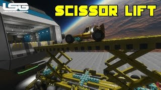 Space Engineers - Heavy Duty Scissor Lift