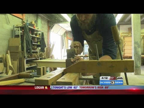 Omaha woodworker starts co-op for other small businesses