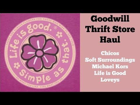 Make Money Online - Goodwill Thrift Store Haul for eBay