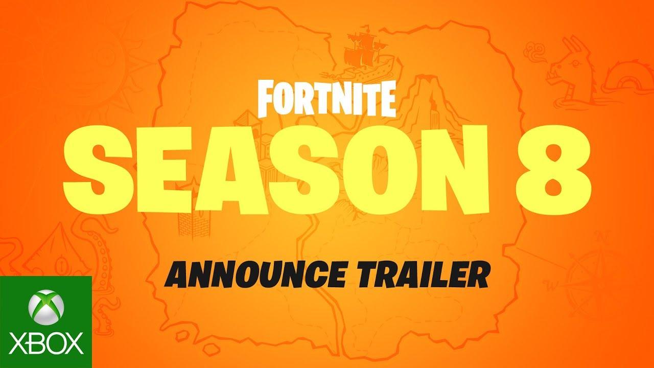 Fortnite Season 8 Cinematic Trailer Youtube