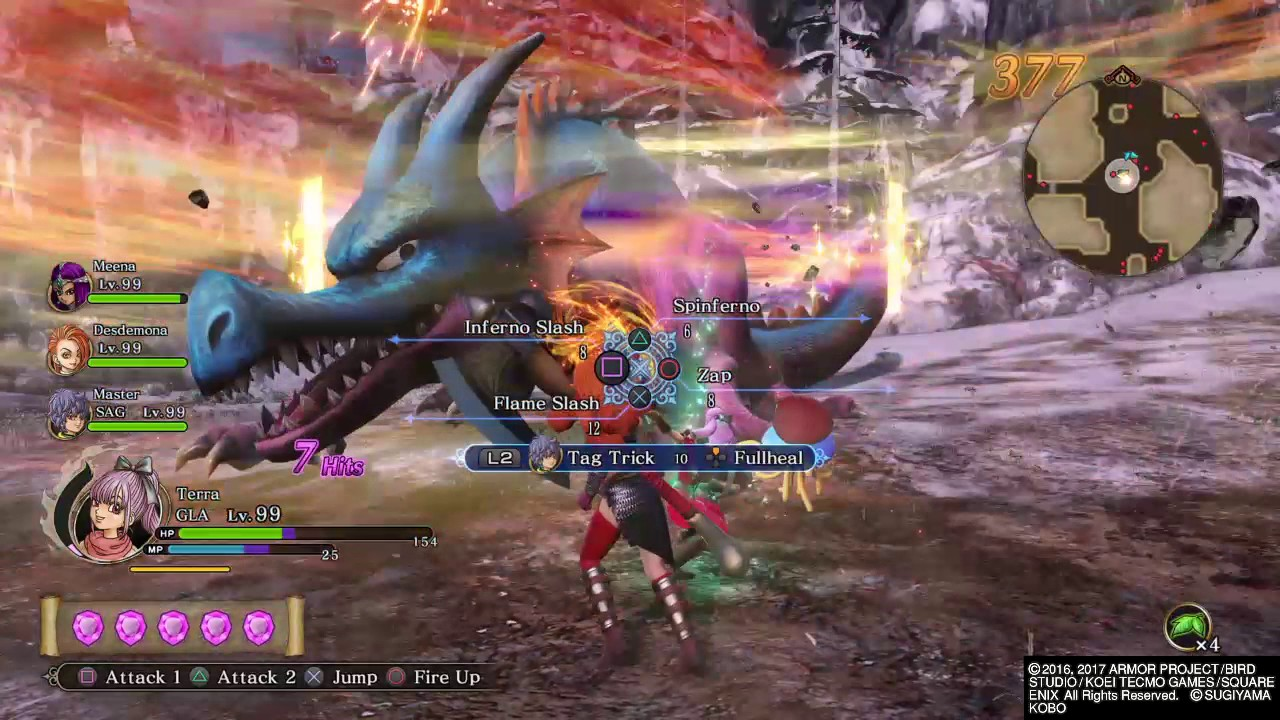 DRAGON QUEST HEROES II - Where to find Blue Dragon