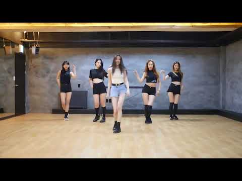 Sunmi Gashina Mirrored Dance Practice for wenze