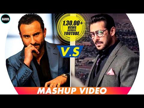 Salman Khan's Dialogue  Vs Saif Ali Khan's Dialogue Race 3
