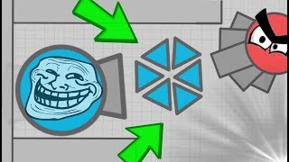 Diep.io TOP FUNNIEST MANAGER TROLL // FT Wormate.io CRAZY SNAKE Vs 2 BAD WORMS