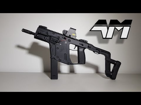 KRYTAC KRISS VECTOR AIRSOFT AEG Unboxing / Review