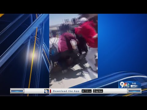 Canyon Hills Middle School fight caught on camera