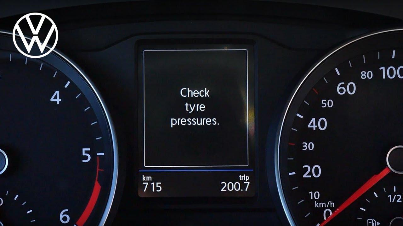 touareg tire pressure monitoring system reset