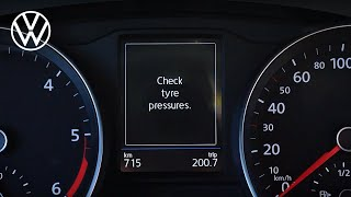 Tire Pressure Monitoring System - Easy to understand | Volkswagen
