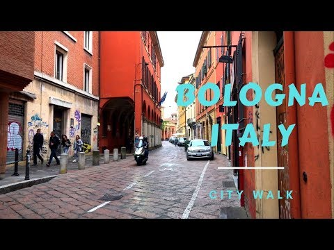 Life In Italy, Bologna City Walk