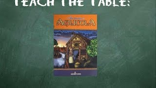 YouTube video How to play Agricola