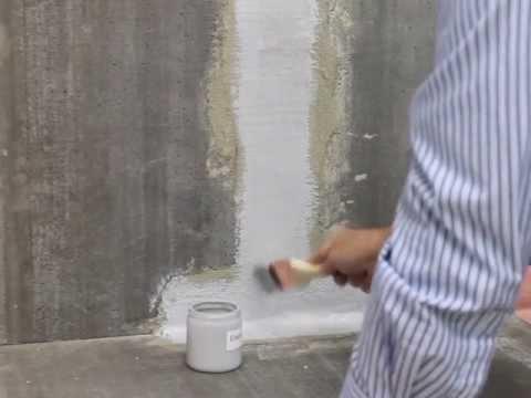 diy leaking basement concrete and block crack repair youtube