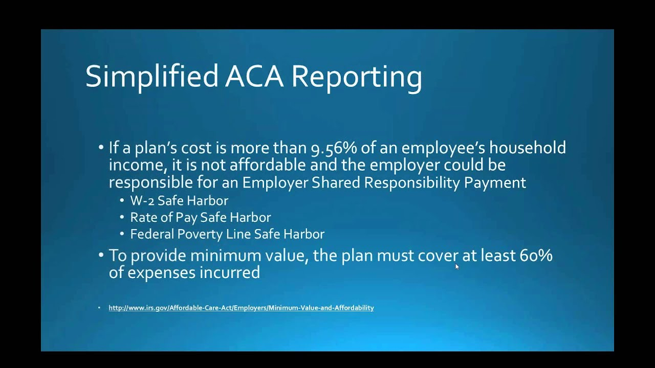 Aca Filer Aca Reporting With Nelco And 1099 Etc Youtube