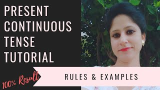 Learn Present Continuous Tense in easiest way with examples in HINDI || Your Tutor Harry