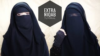 How To Wear 3 Layer Extra Niqab | Eye Coverage | Jumana Liba