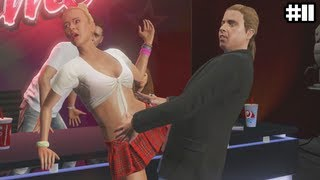 GTA 5 - Michaels Daughter is a SLUT  - (GTA V Lets Play #11)