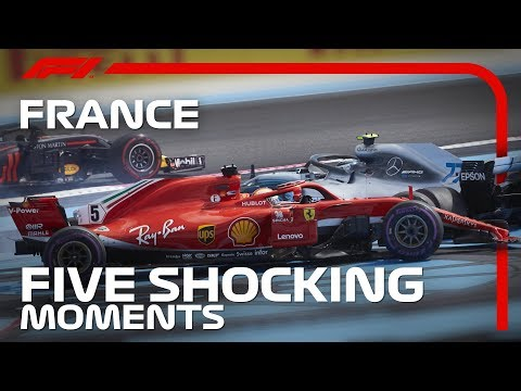 5 SHOCKING Moments at the French Grand Prix   2019 French Grand Prix