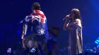 """Австралиец снял трусы на выступление Джамалы на """"Евровидении 2017"""""""