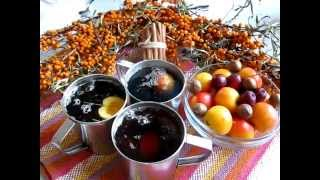Чай с корицей и яблоком/Tea with apples and cinnamon