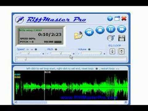Riffmaster Pro Version  Slow Down Music Slow Down Mp3