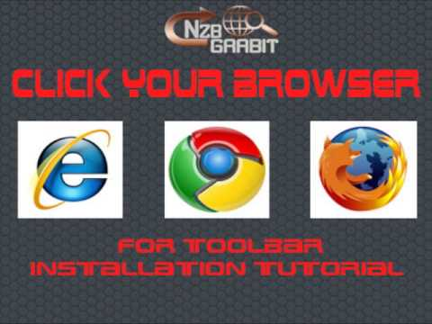 Tutorials on how to install the NEW NZB Grabit toolbar.