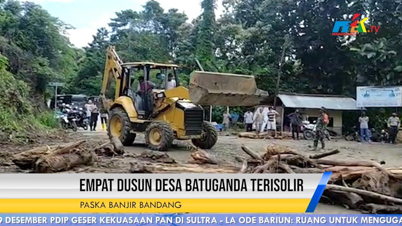 Paska Banjir Bandang Empat Dusun Desa Batuganda Terisolir