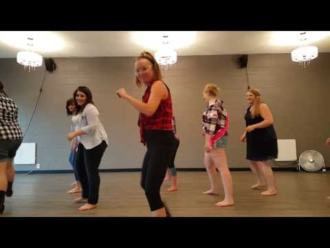 Footloose Country Line Dance beginners routine choreography bachelorette party
