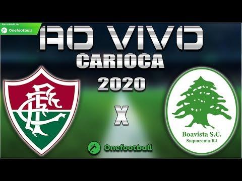 Fluminense x Boavista Ao Vivo | Carioca 2020 | 5ª Rodada | Narração