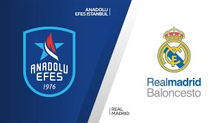 Anadolu Efes Istanbul - Real Madrid Highlights |Turkish Airlines EuroLeague, PO Game 5