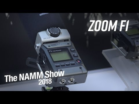 NAMM 2018 | Zoom F1 Field Recorder