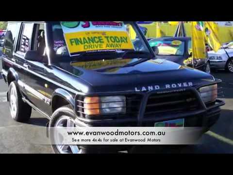 4x4s for sale at Evanwood Motors - Car City - Car Sales - used cars