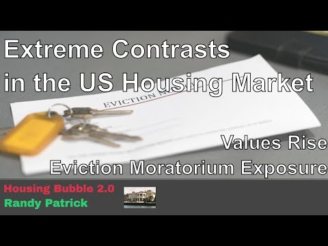 Housing Bubble 2.0 - Extreme Contrasts In The US Housing Market - Values Vs. Evictions