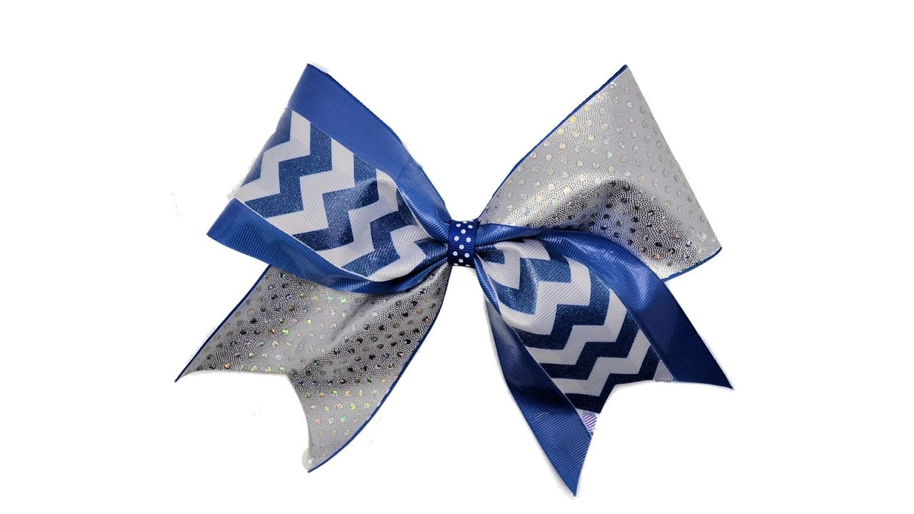 How To Make A Cheerleading Bow