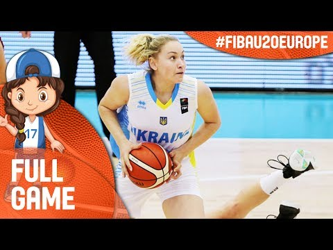 Ukraine v Iceland - Full Game - FIBA U20 Women's European Ch