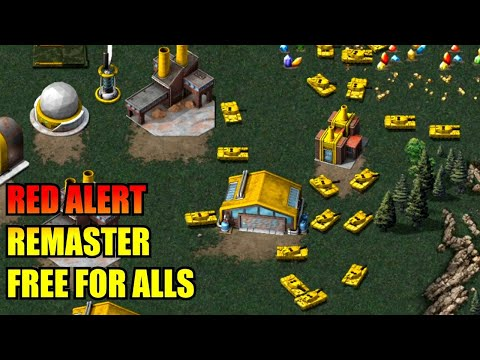 C&C Red Alert Remastered - Free For All Online Multiplayer