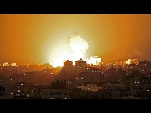 قصف عنيف على قطاع غزة ودفعات من الصواريخ باتجاه إسرائيل  - نشر قبل 3 ساعة