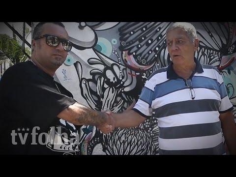 Como Doria, João do Beco do Batman pinta muro, recua e libera novo grafite