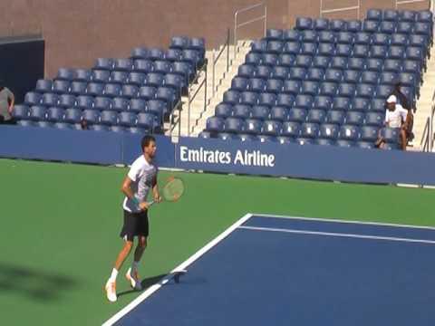Grigor Dimitrov 2016 US Open Practice