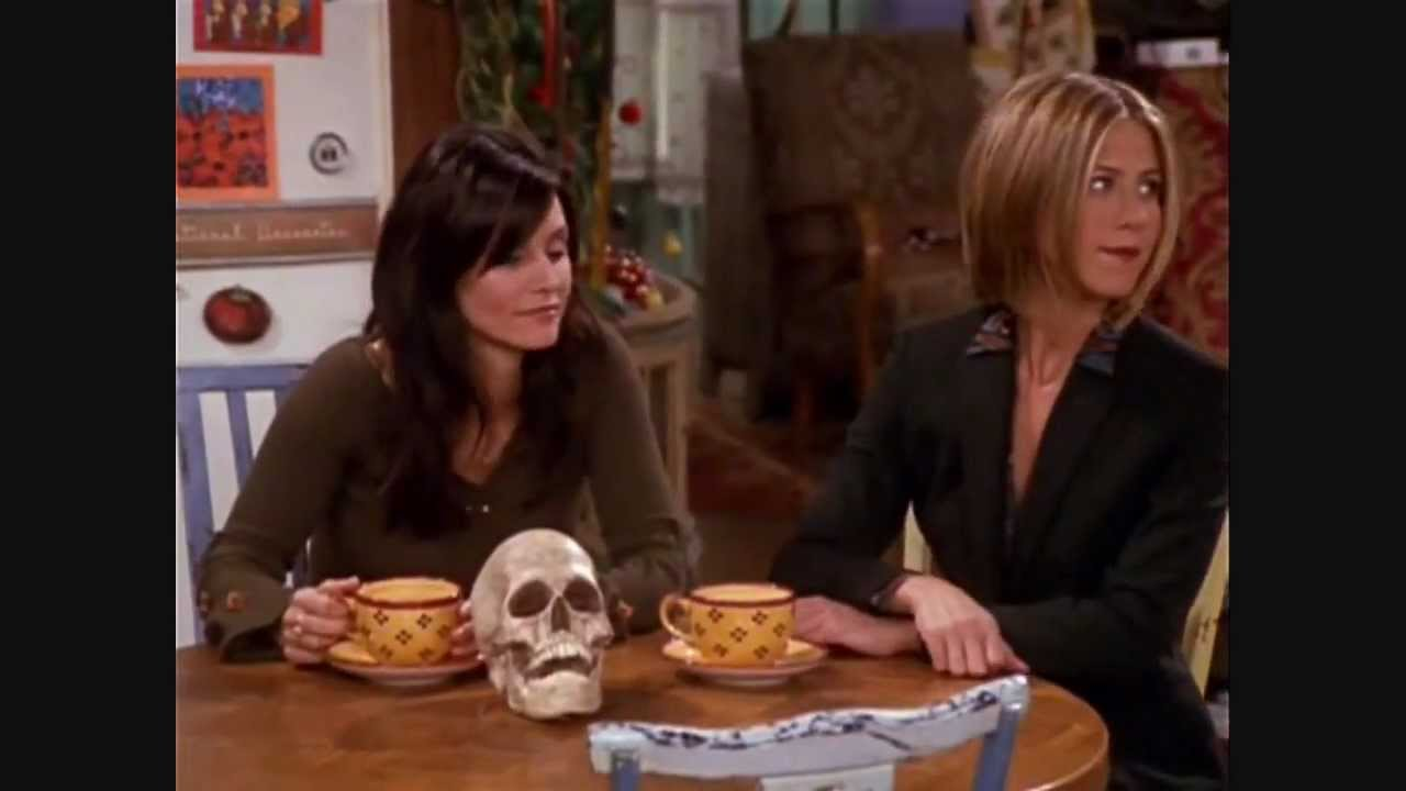 friends phoebe and the skull the one with the holiday armadillo season 7 episode 10 youtube. Black Bedroom Furniture Sets. Home Design Ideas