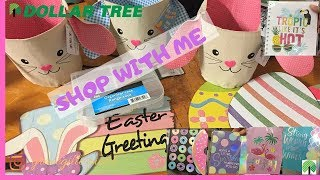 Dollar Tree Shop With Me | Haul | Easter | 02182019