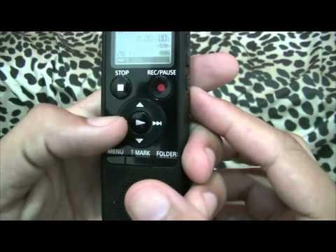 Dicas gravador digital Sony ICD -PX440 e Microfone Lapela