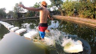 NTN - Thử Thách Chạy Trên Mặt Nước (Running on water challenge)
