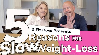 5 Reasons for Slow Weight Loss on Keto