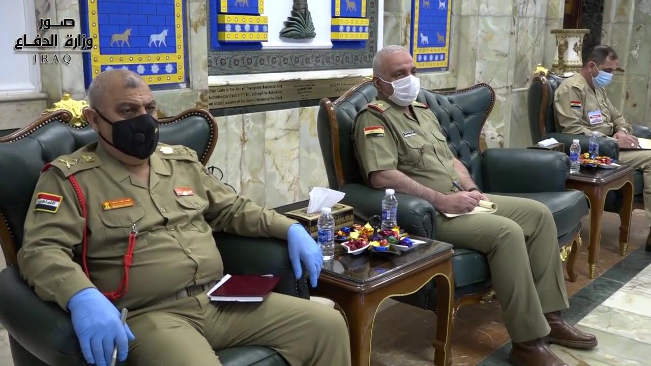 وزير الدفاع يلتقي القائم بالأعمال في السفارة الأميركية ببغداد