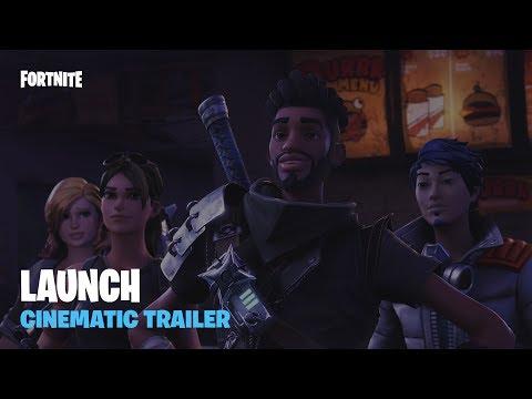 Fortnite - Launch Cinematic Trailer (ESRB)