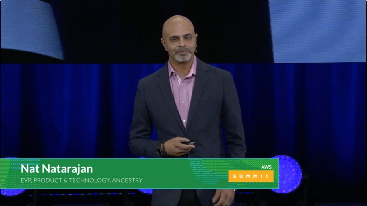 AWS Summit Series 2017   Chicago - Nat Natarajan, EVP of Product and  Technology at Ancestry