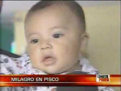 TERREMOTO PERÚ: Milagro en Pisco (Cuarto Poder 19-...