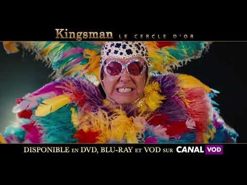 Kingsman Le Cercle d'Or - spot VOD 20s ELTON