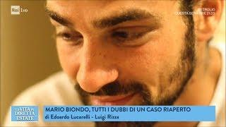 Mario Biondo: omicidio o suicidio, caso riaperto - La vita in diretta estate 20/06/2018